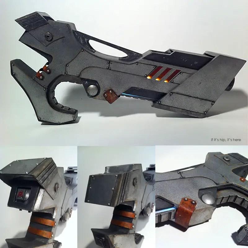 Steampunk Reinforcer gun devin smith IIHIH