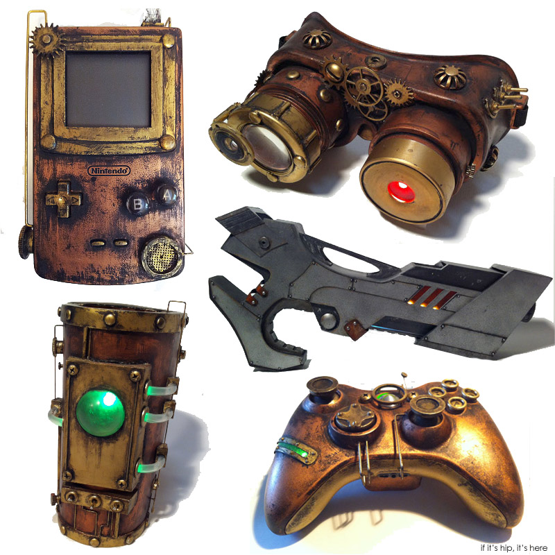 Steampunk Sculptures ganged IIHIH