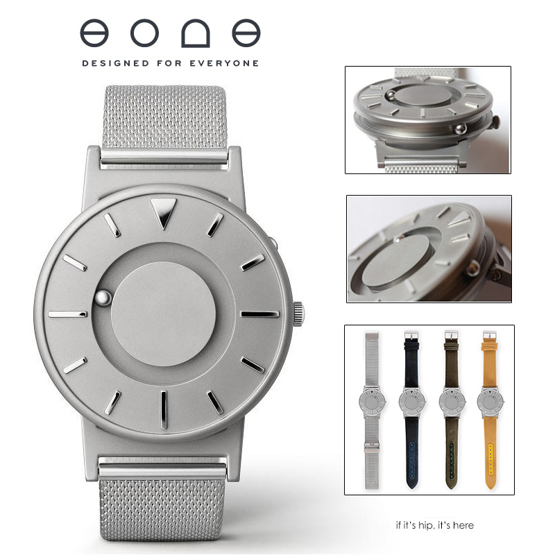 The Bradley Watch. Conceived For The Blind, Designed For ...