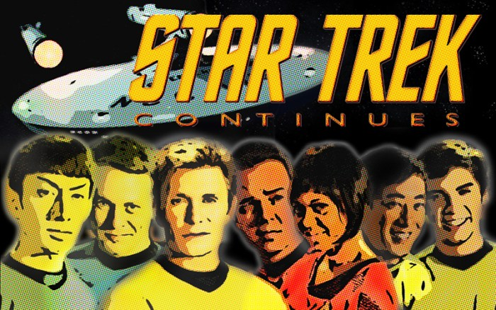 star trek continues web series