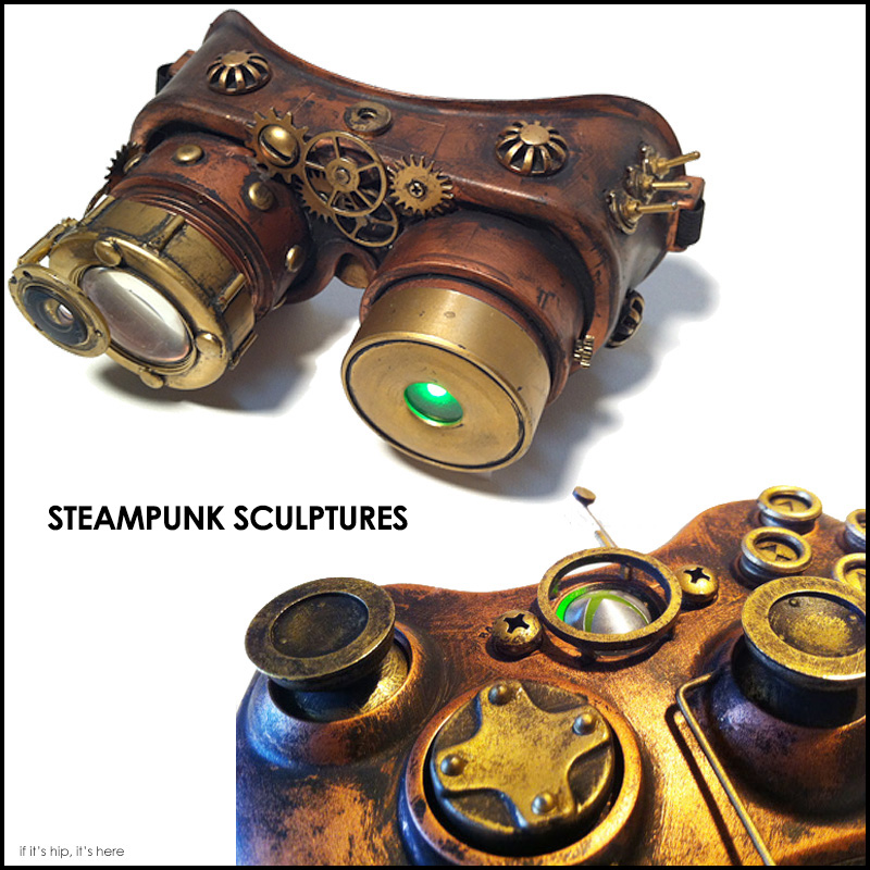 DEVIN SMITH Steampunk Sculptures if it hip its here
