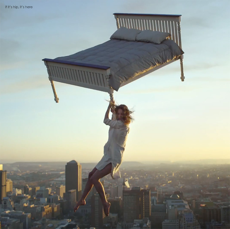 Ikea Beds Features Airborne Mattresses Flying Dogs And