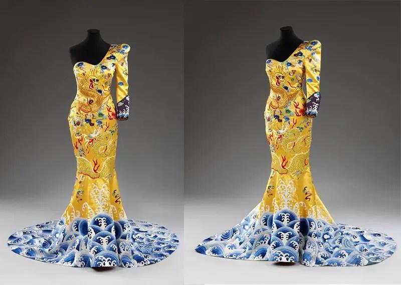 laurence xu gown at museum IIHIH