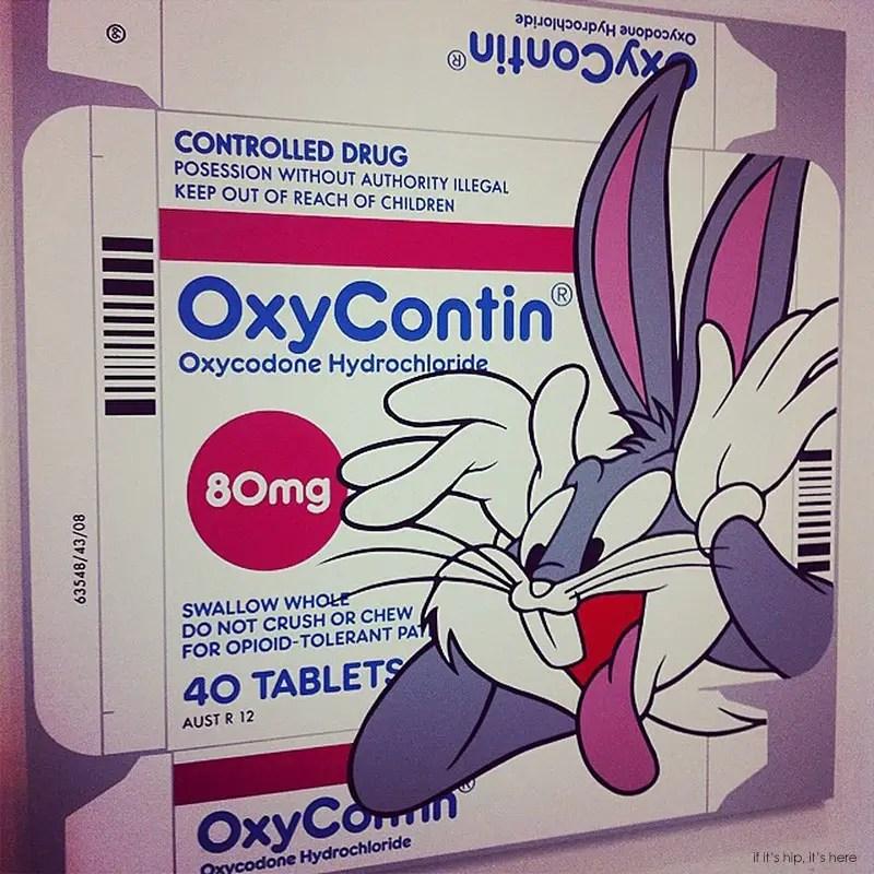Bugs bunny Oxy full size ptg ben frost IIHIH