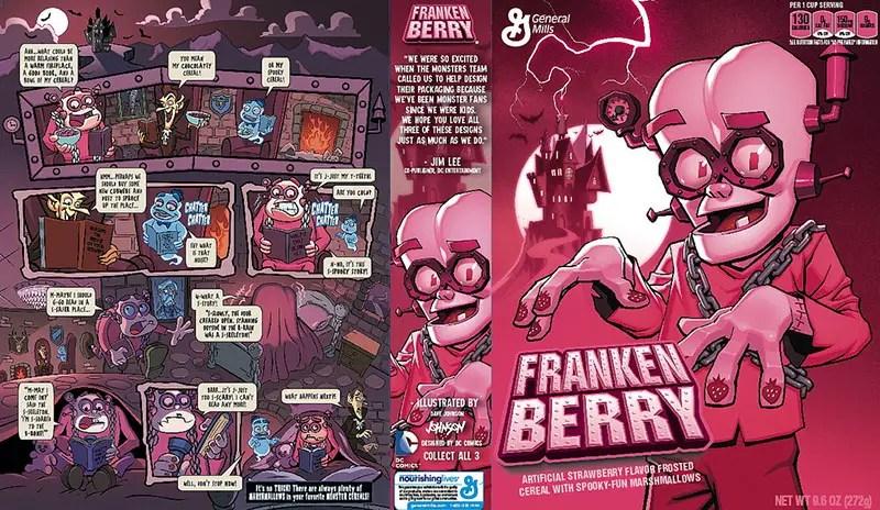 Franken Berry new box design IIHIH