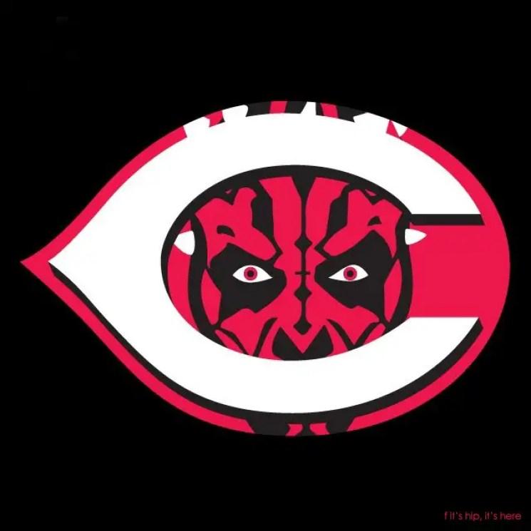 MLB x StarWars series - Cincinnati Darth Maul Reds IIHIH