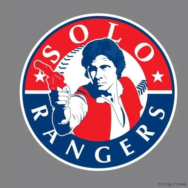 MLB x StarWars series - Han Solo Rangers IIHIH