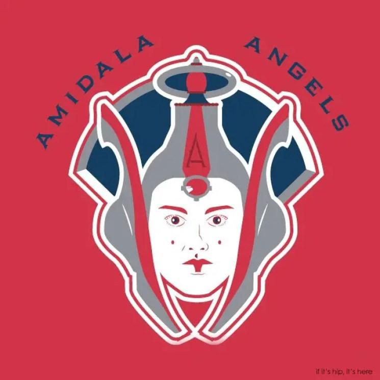 MLB x StarWars series - The Los Angeles Amidala Angels IIHIH