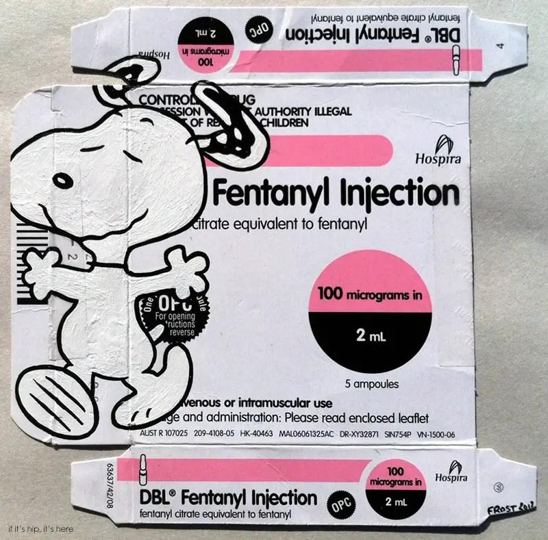 Snoopy Fentanyl ben frost IIHIH