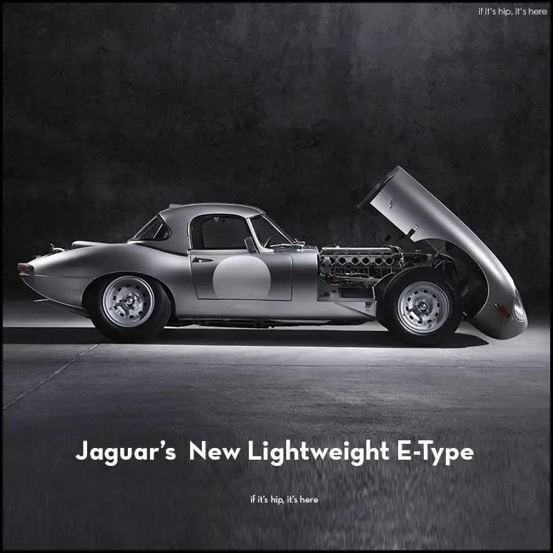 jaguar new lightweight e-type