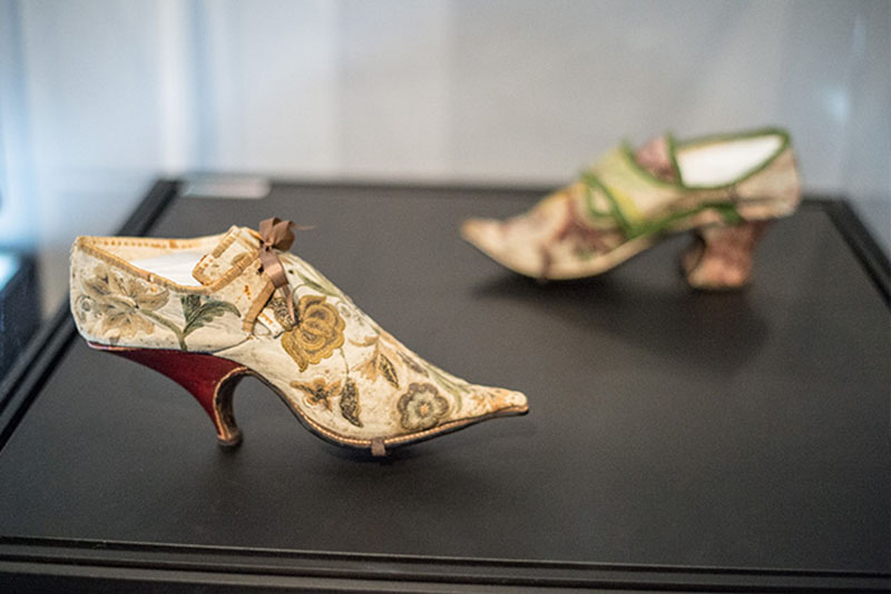French Shoes, 1690–1700.