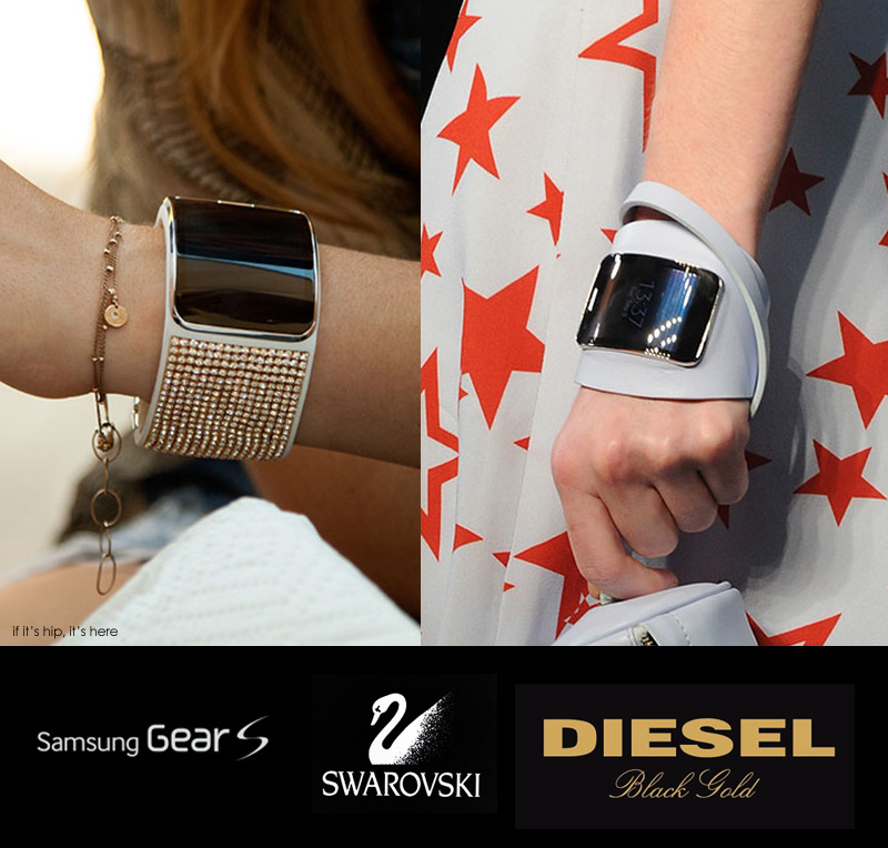 Swarovski and Diesel for Samsung Gear S