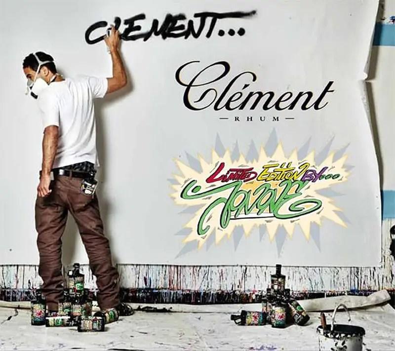 Rhum Clement by JonOne