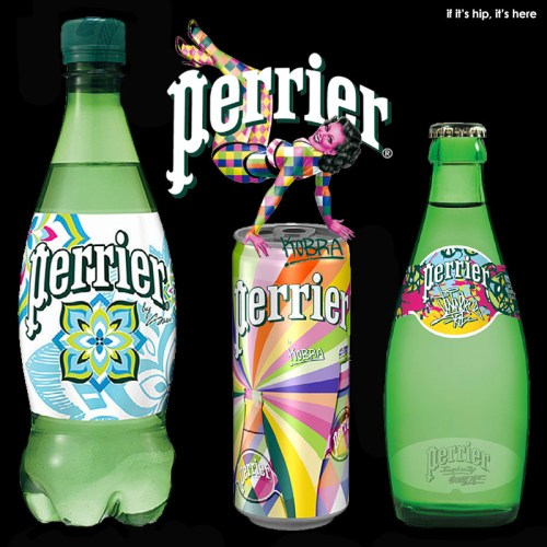 Read more about the article The Perrier Street Art Limited Edition Collection of Bottles and Cans.