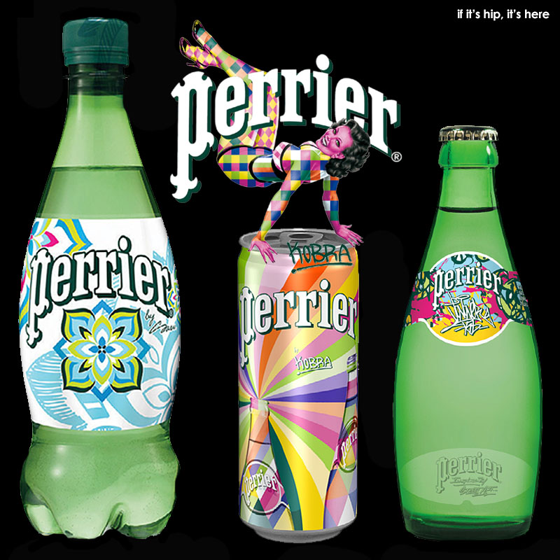 The Perrier Street Art Limited Edition Collection