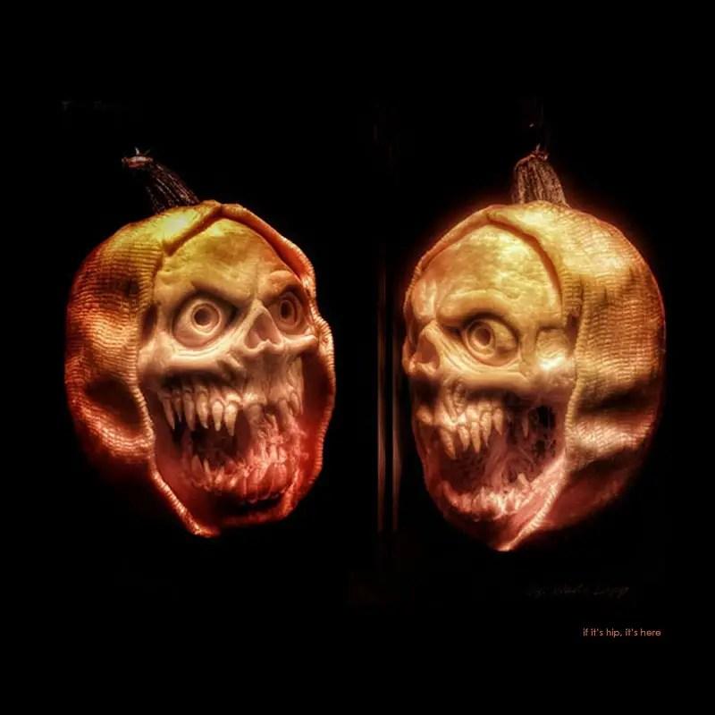 8. The Reaper pumpkin carving
