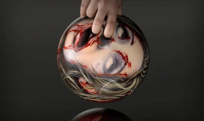 scary bowling balls