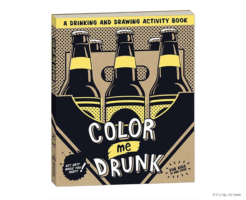 COLOR ME Drunk Coloring Book Cover