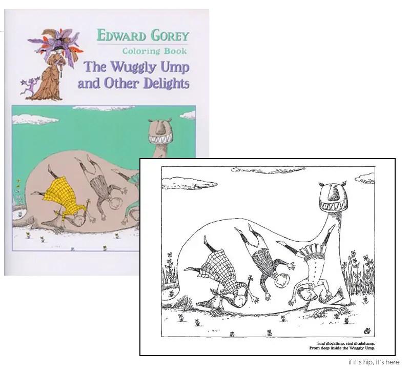 Edward Gorey Coloring Book IIHIH