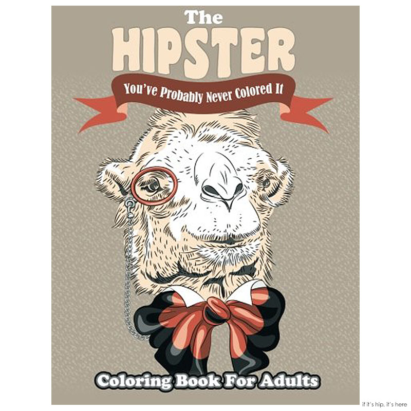 The hipster coloring book IIHIH
