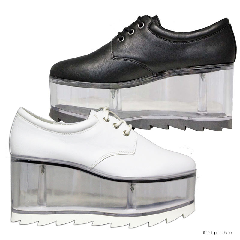 Qloud Shoes: Vegan Leather with Clear