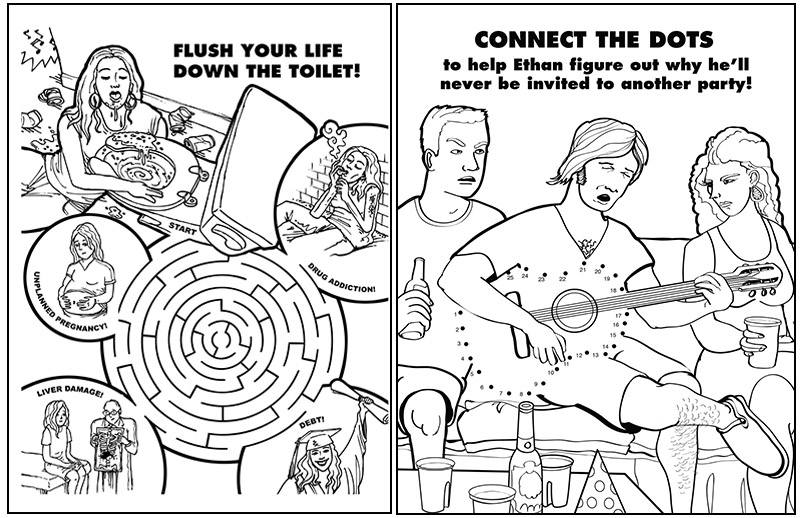 The Coolest Coloring Books For Grown-Ups Part IV
