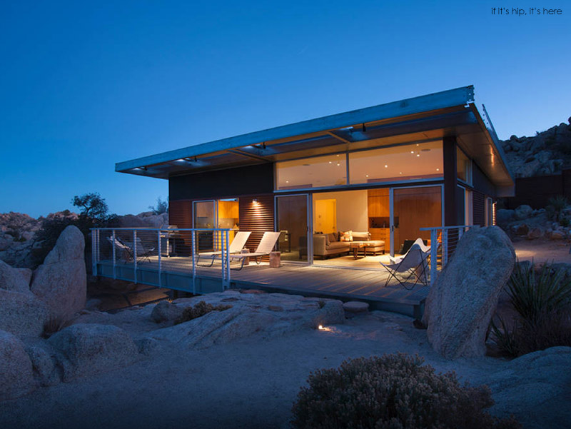 Chic Little Prefab Rental Home Near Joshua Tree Is A Hip