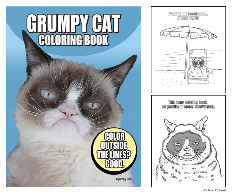 grumpy cat coloring book IIHIH