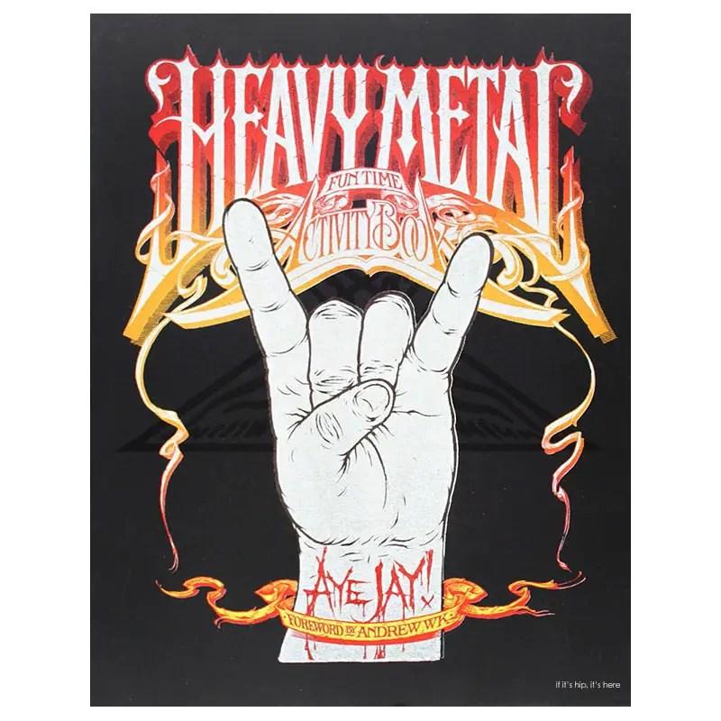 heavy metal fun activity book IIHIH