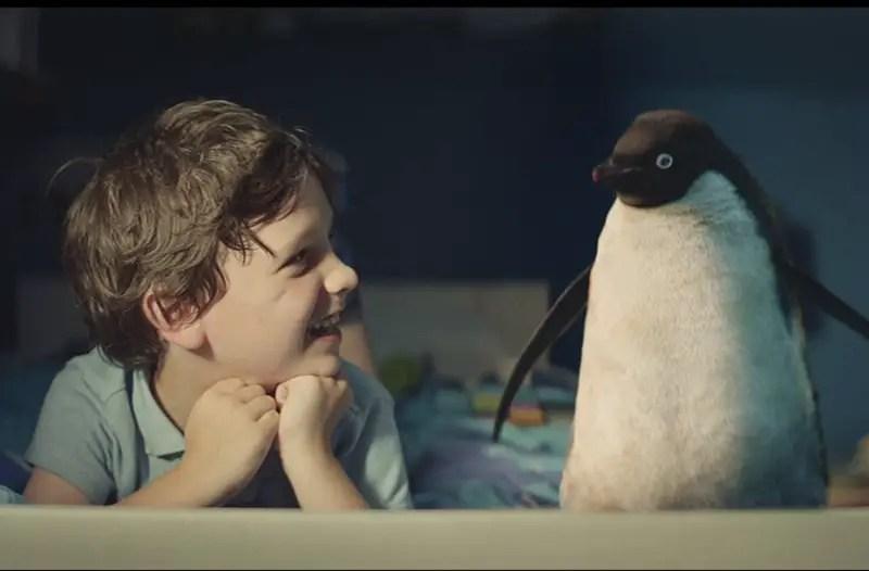 john lewis monty penguin ad