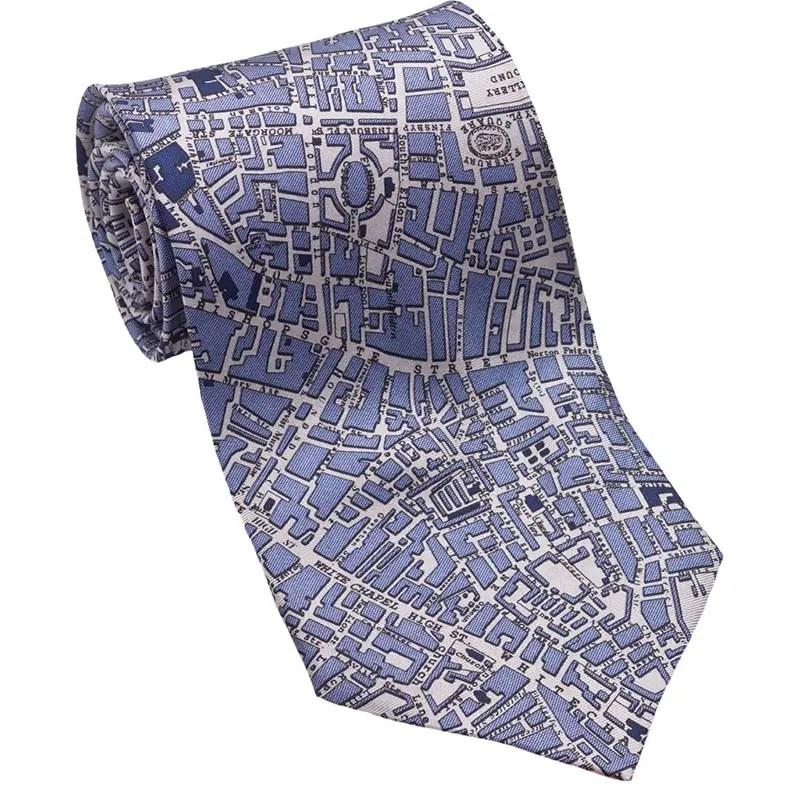 London_BlueTaupe tie