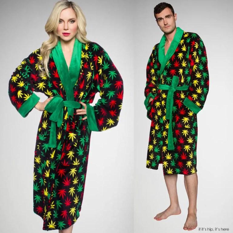 cannabis leaf robe IIHIH