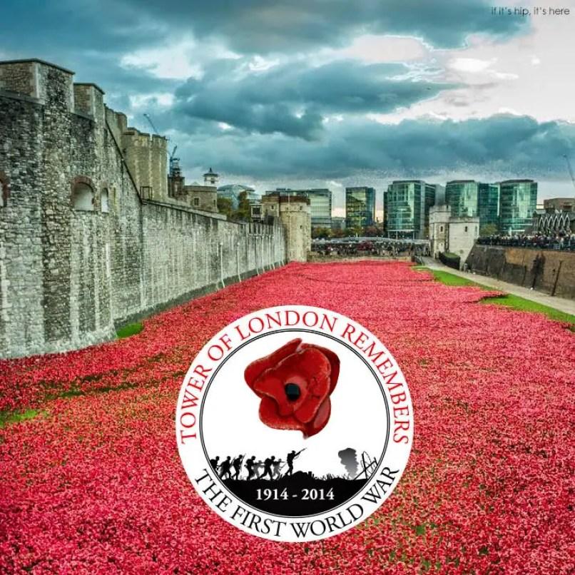 tower of london poppies installation Armistice Day IIHIH