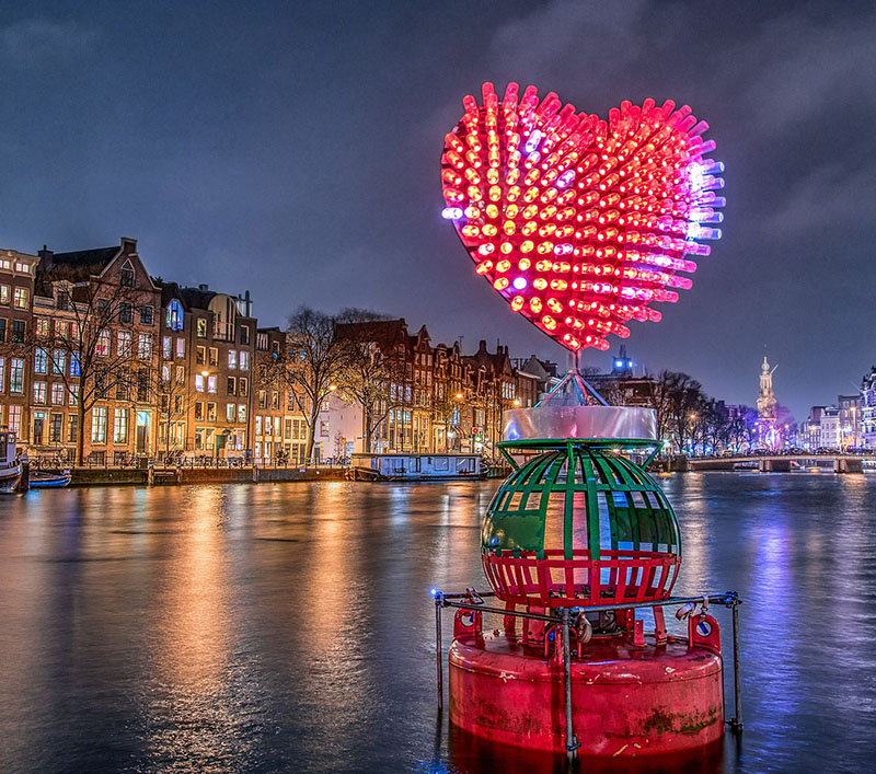 Photos From The Third Amsterdam Light Festival