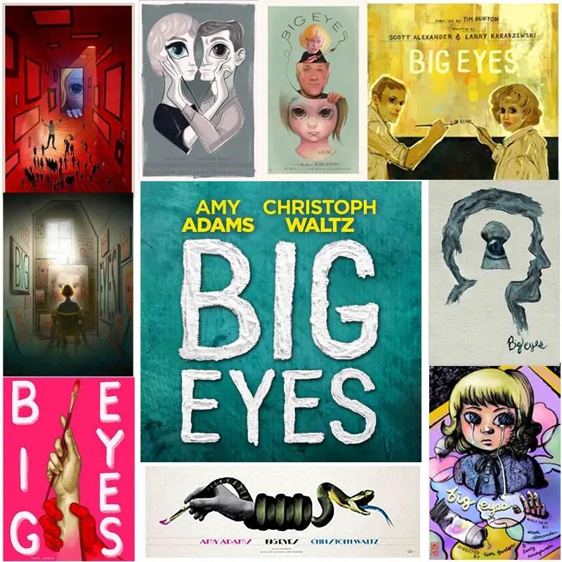 Movie Posters For Tim Burton's Big Eyes