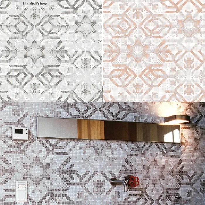 Bisazza-Collezioni-2010-snowflake mosaic tiles by marcel wanders IIHIH