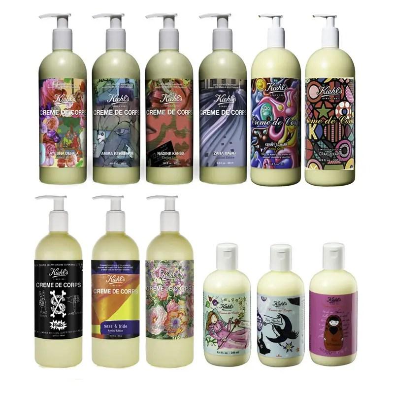 Group Kiehls Art Labels