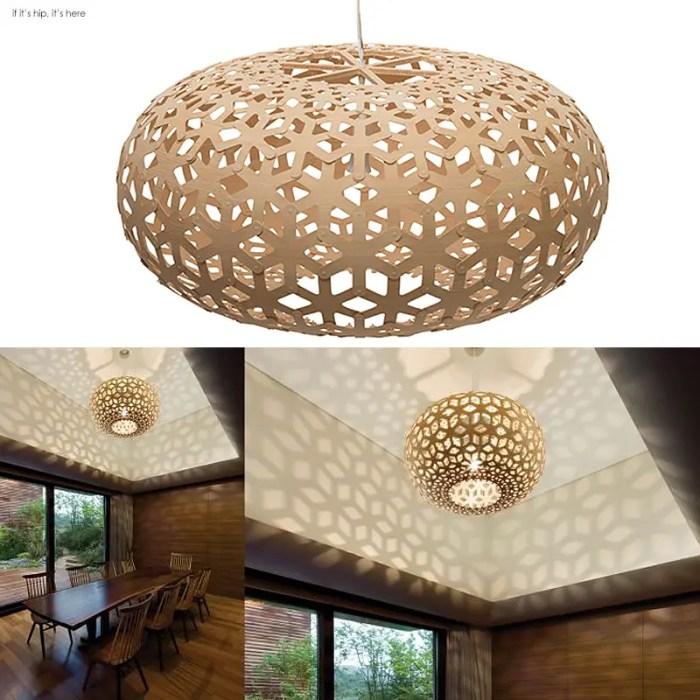 Snowflake-Pendant-Light-Kitset-Natural-Bamboo IIHIH