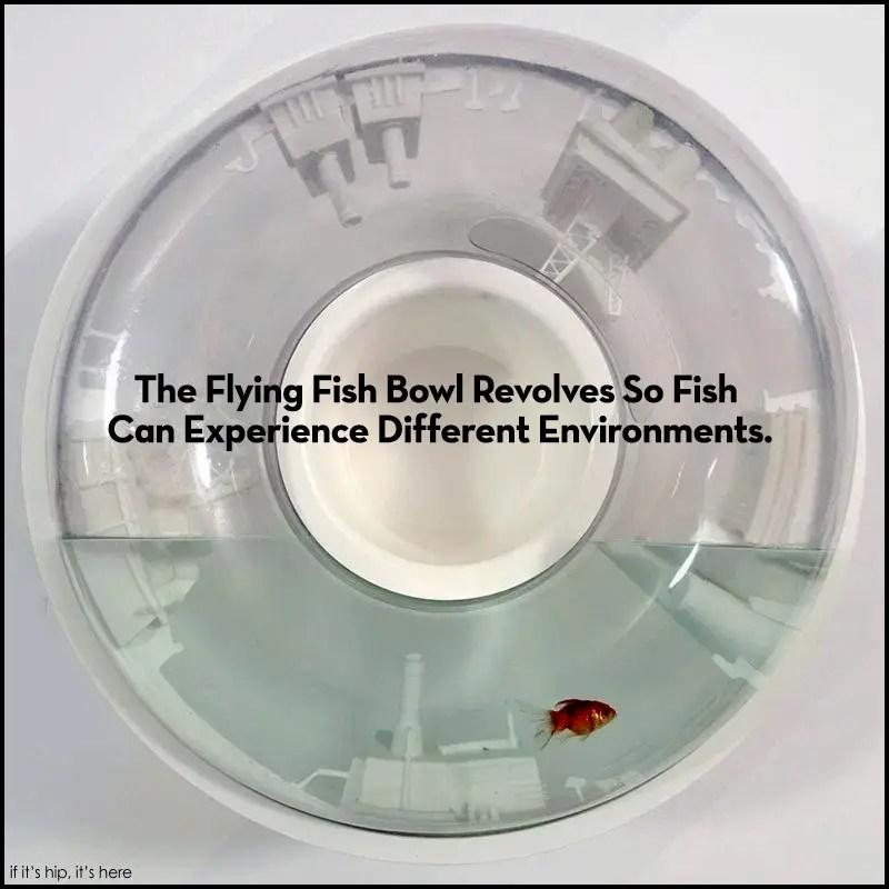 revolving fish tank