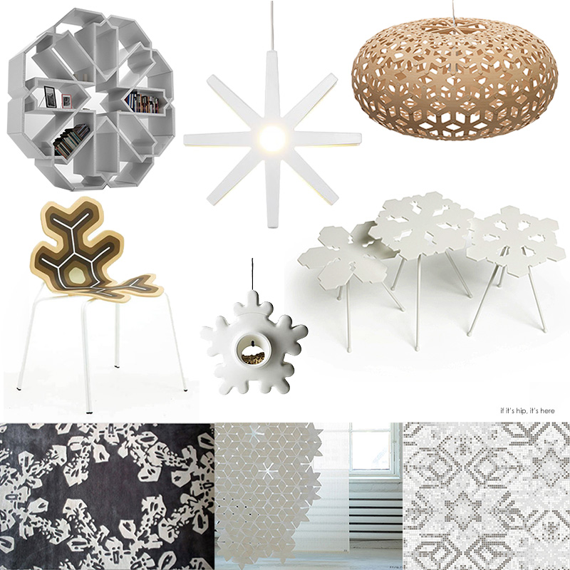 snowflake-inspired modern furniture