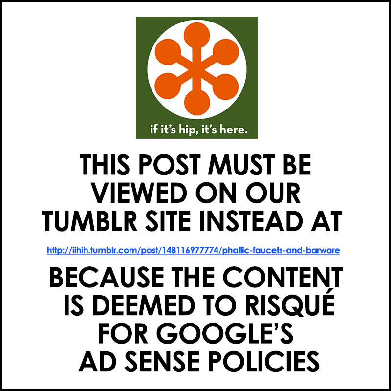 Redirect to Tumblr Phallic Hardware post
