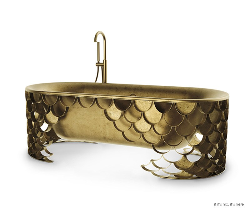 5 Obnoxiously Ornate Bathtubs from Maison Valentina. - if it\'s hip ...