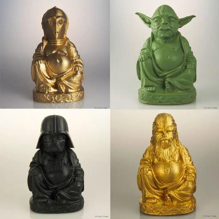 Star Wars - Zen Buddhas Quad IIHIH