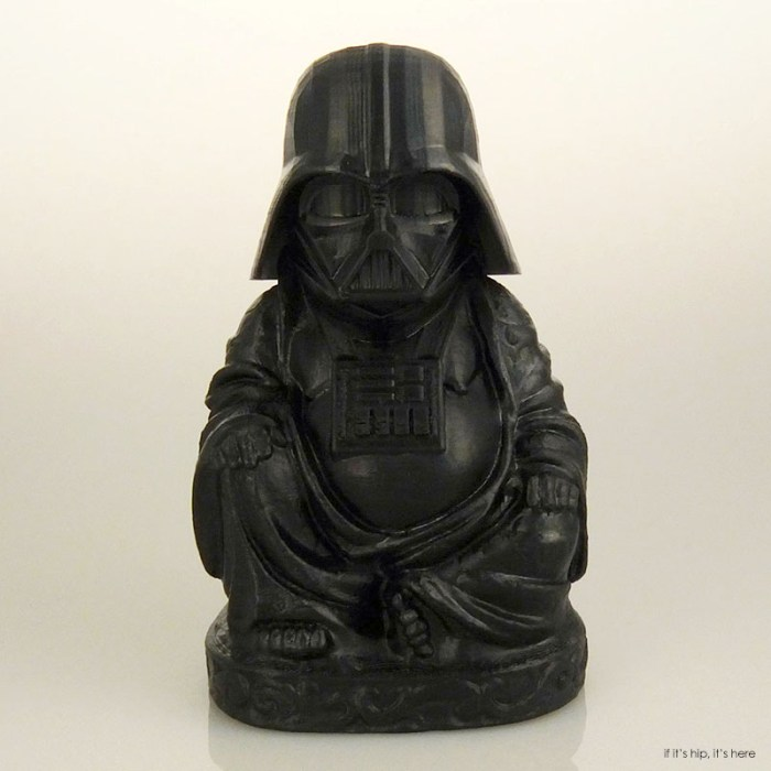 Zen Darth Vader Buddha