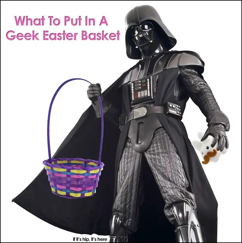 Vader Geek Easter Basket w border © IIHIH