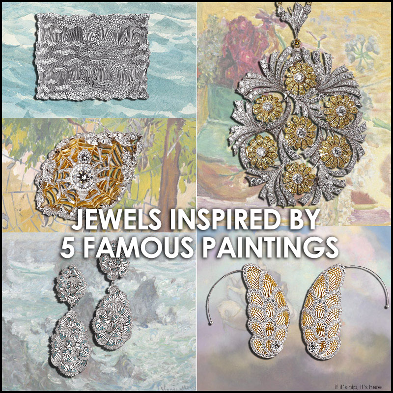jewelry inspired by famous paintings