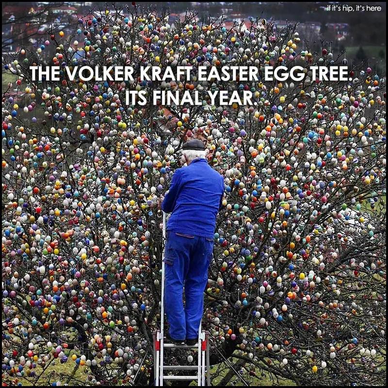 Volker Kraft Easter Egg Tree