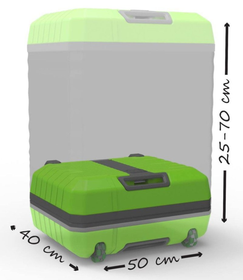 Fugu Revolutionary Expandable Luggage Goes From Check In