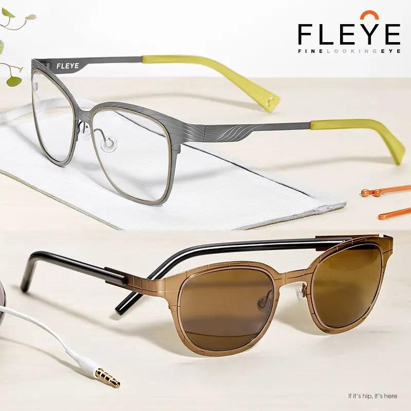 Danish Designer Eyeglass Frames : FLEYE Danish Designer Eyewear To Die For - if its hip, it ...