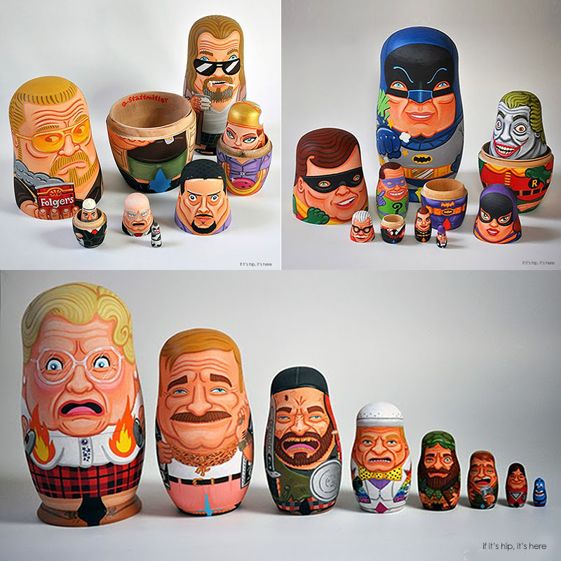 robin williams and pop culture nesting dolls hero IIHIH